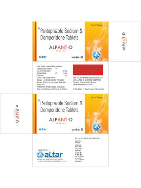 ALPANT - D - Altar Pharmaceuticals Pvt. Ltd.