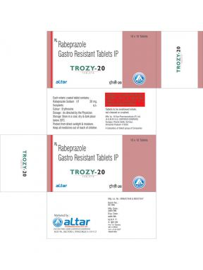 TROZY - 20 - Altar Pharmaceuticals Pvt. Ltd.