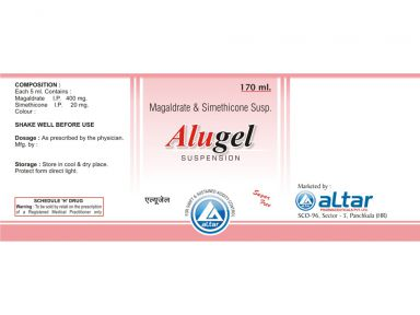 ALUGEL - Altar Pharmaceuticals Pvt. Ltd.