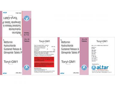 TORYL - GM 1 - Altar Pharmaceuticals Pvt. Ltd.