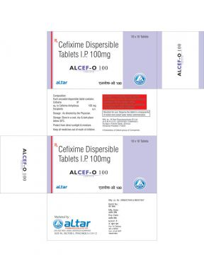 ALCEF - O 100 - Altar Pharmaceuticals Pvt. Ltd.
