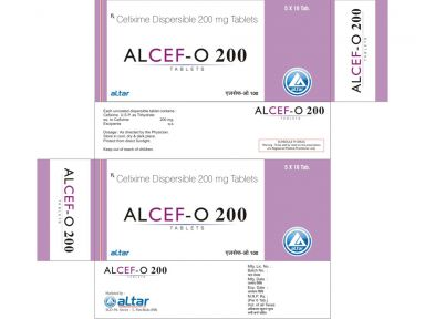 ALCEF - O 200 - Altar Pharmaceuticals Pvt. Ltd.