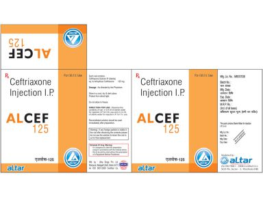 ALCEF - 125 - Altar Pharmaceuticals Pvt. Ltd.