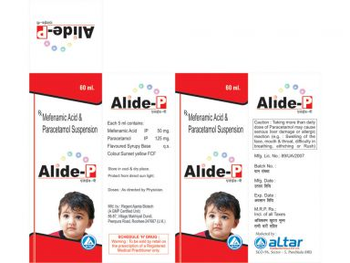 ALIDE - P - Altar Pharmaceuticals Pvt. Ltd.